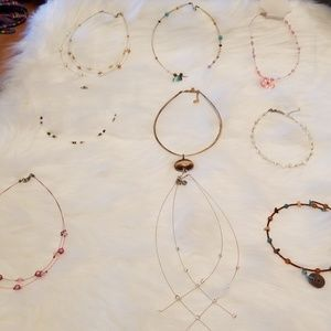 Necklaces. 9 PC total As a set or individually